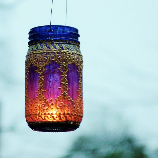 15 Incredible Handmade Mason Jar Ideas For Your Garden And Outdoor Areas
