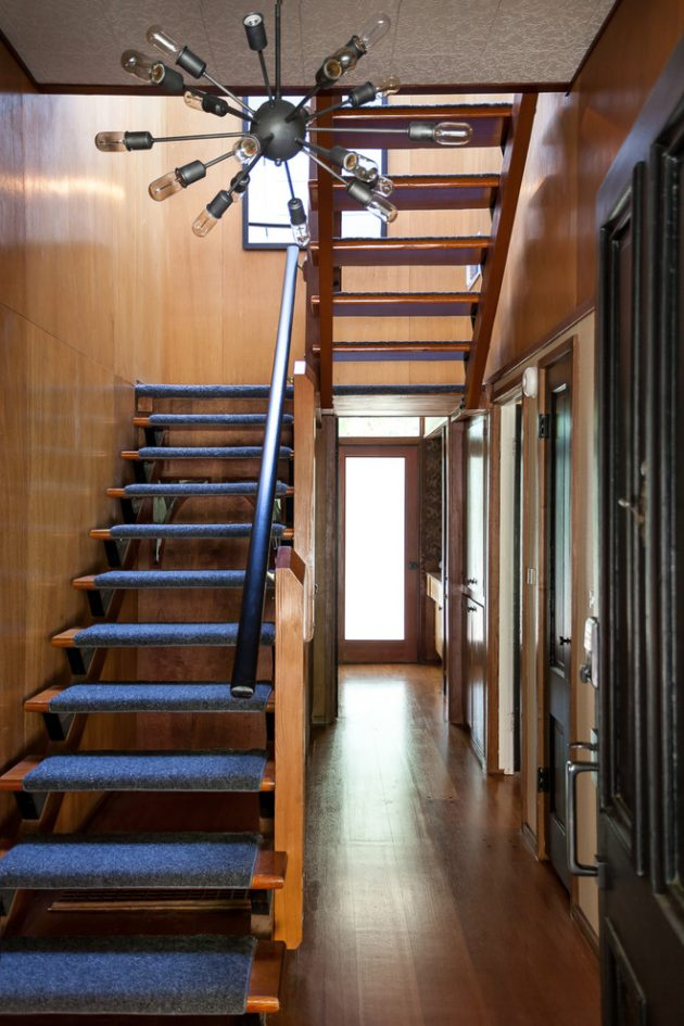 15-Outstanding-Mid-Century-Modern-Staircase-Designs-1-630x945 Ranch Design Ideas Bathroom on ranch home bathroom, ranch siding ideas, ranch basement ideas, ranch design ideas, ranch master bathroom, ranch room ideas, ranch foyer ideas, ranch bathroom remodel,