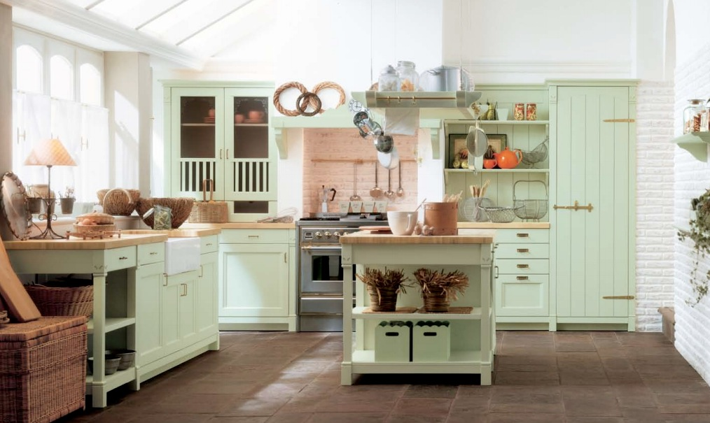 19 Captivating Country Kitchen Designs