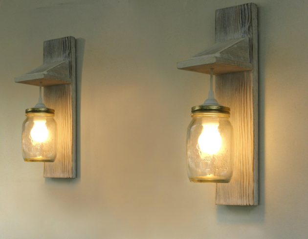 16 Incredible Handmade Reclaimed Wood Lighting Designs You
