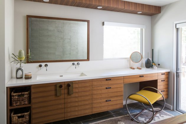 Inspirational MidCentury Modern Bathroom Designs - Modern kitchen and bathroom designs