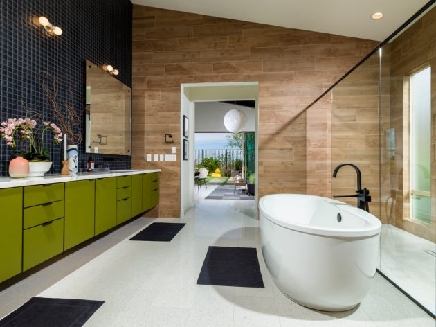 16 Inspirational Mid Century Modern Bathroom Designs Photo