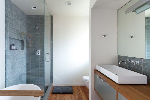 16 Inspirational Mid Century Modern Bathroom Designs