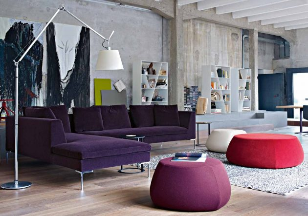18 Big Floor Lamp Designs For Magical Ambiance In The Living Room