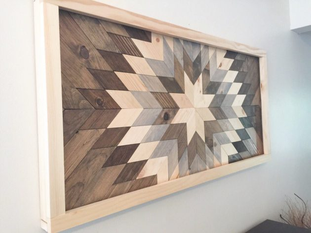 8 Incredible Handmade Reclaimed Wood Decor Ideas