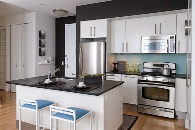 Decorating Small Modern Kitchens