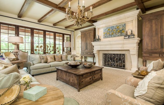 Alluring Living Room Designs In Earth Tones That Will Charm You