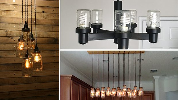 20 Amazing Handmade Mason Jar Lighting Designs You Need To Try