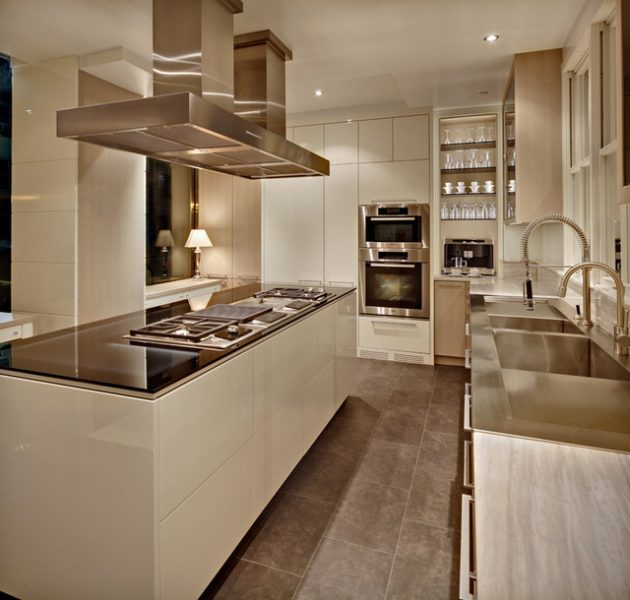 19 Brilliant Ideas For Decorating Small Modern Kitchens