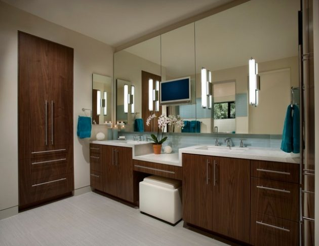 Mirror As Important Bathroom Element