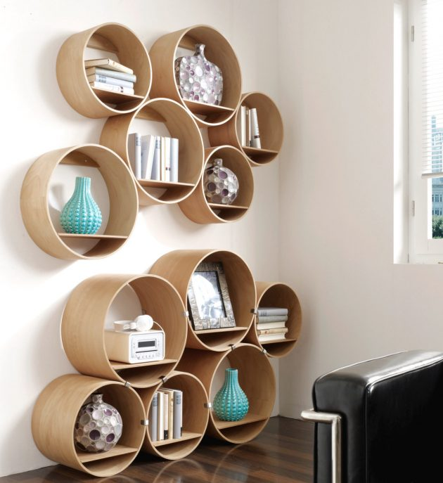 16 Captivating Handmade Wooden Shelf Designs That Will