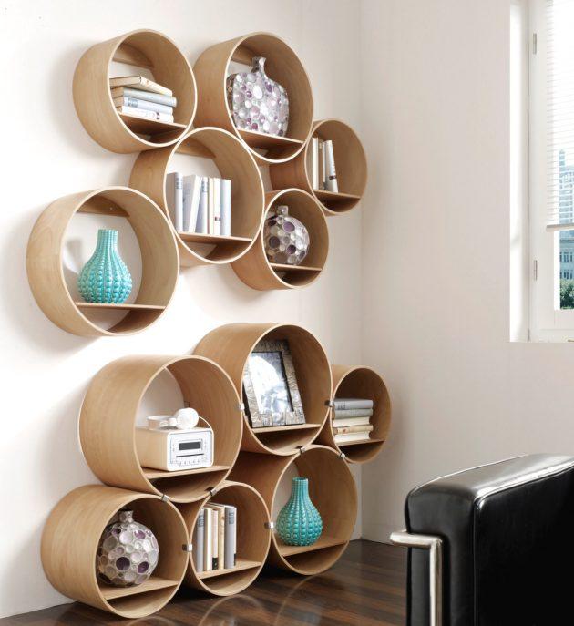 Beautiful Bedroom Designs: 16 Captivating Handmade Wooden Shelf Designs That Will
