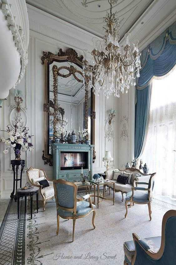 Room Design Interior: Stylish Ideas For Decorating French Interior Design