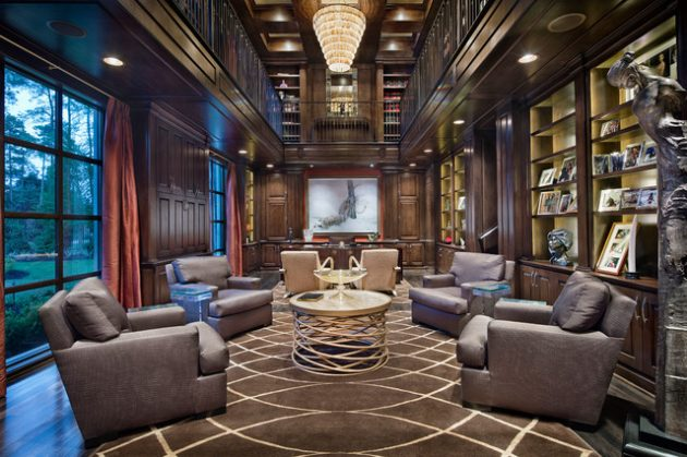 16 Classic Home Library Designs That Are Dream Of Every ...
