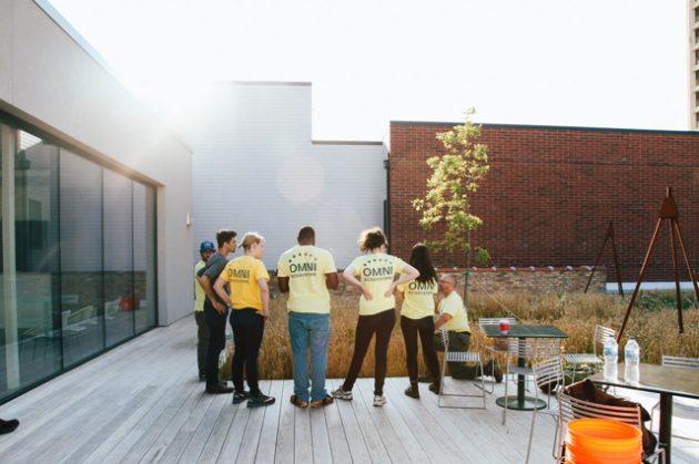 The Unusual Rooftop Garden