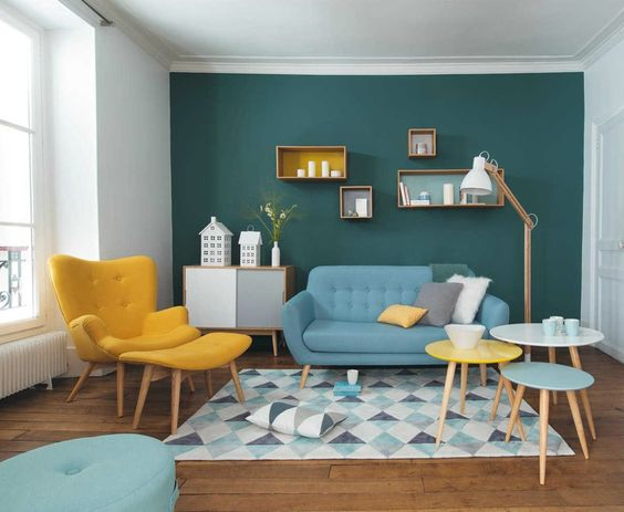 19 Timeless Dream Living Room Designs In Retro Style