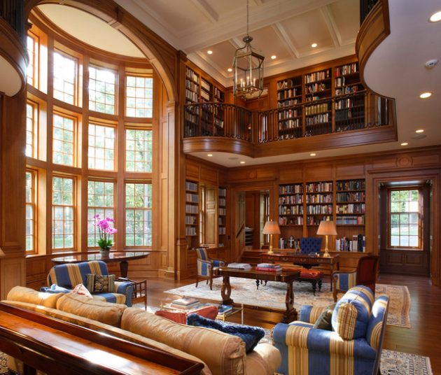 Home Coffee Bar Design Ideas: 16 Classic Home Library Designs That Are Dream Of Every