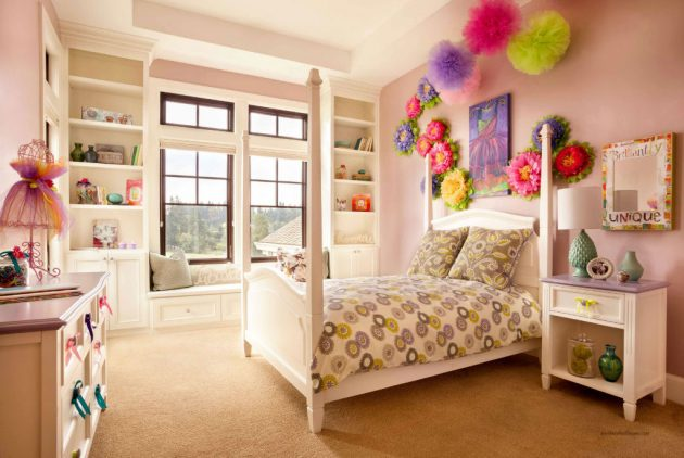 17 Remarkable Ideas For Decorating Teen Girl's Bedroom