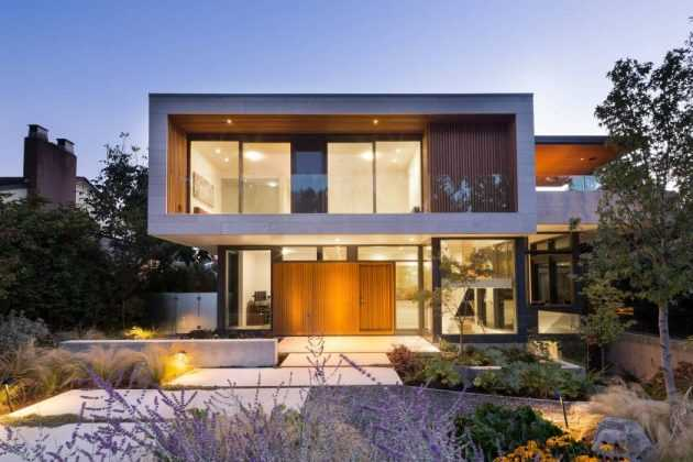Chancellor Residence by Frits de Vries Architect in Vancouver, Canada