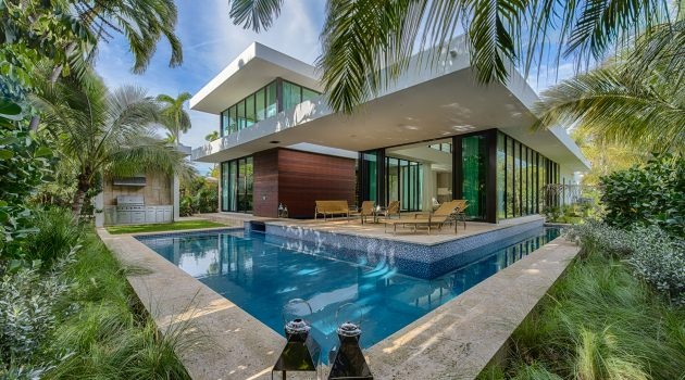 Modern Miami Home, Miami Beach, Florida