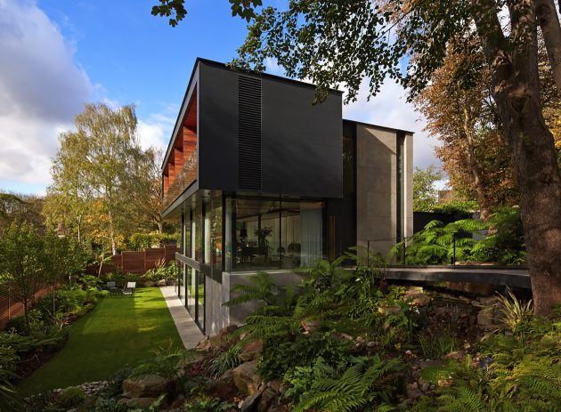 Fitzroy Park House by Stanton Williams in London, UK