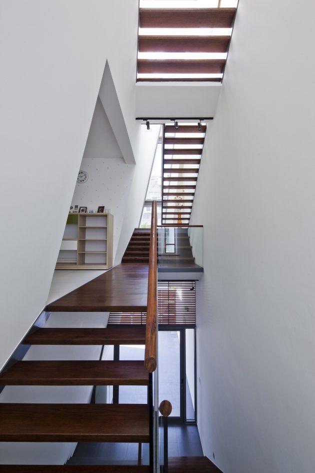 Folding Wall House by Nha Dan Architect in Ho Chi Minh, Vietnam
