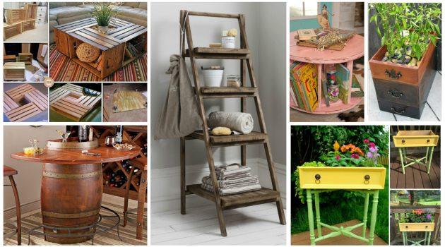 19 Unexpected Ways To Repurpose Your Old Unused Furniture
