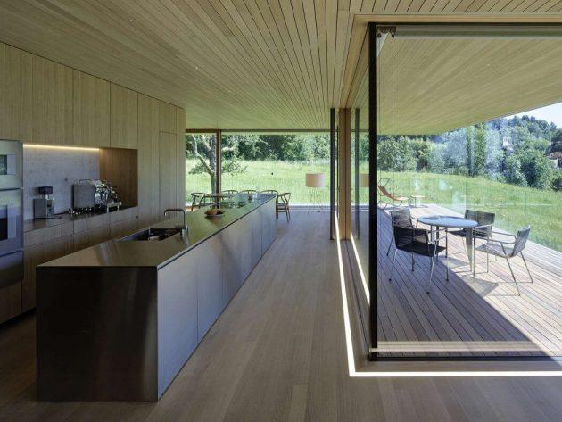 House D by Dietrich | Untertrifaller Architekten in Bregenz, Austria