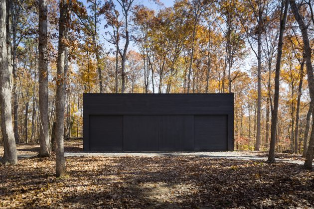 James River House by ARCHITECTUREFIRM in Scottsville, Virginia