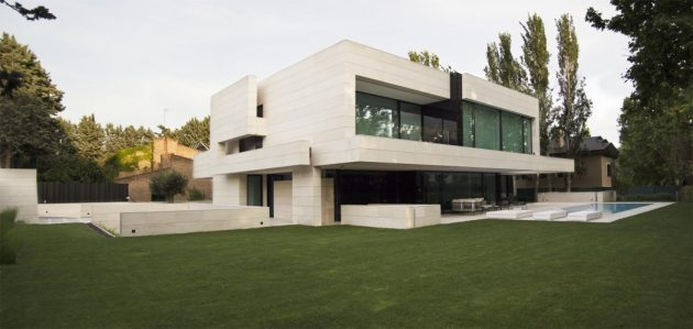 Park House by A cero in Madrid, Spain