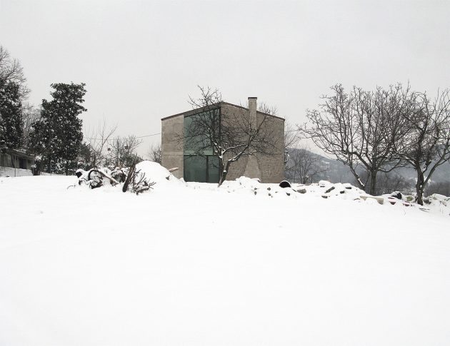 Residence O by Andrea Tognon Architecture in Teolo, Italy