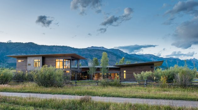 Shoshone Residence by Carney Logan Burke Architects in Wilson, USA
