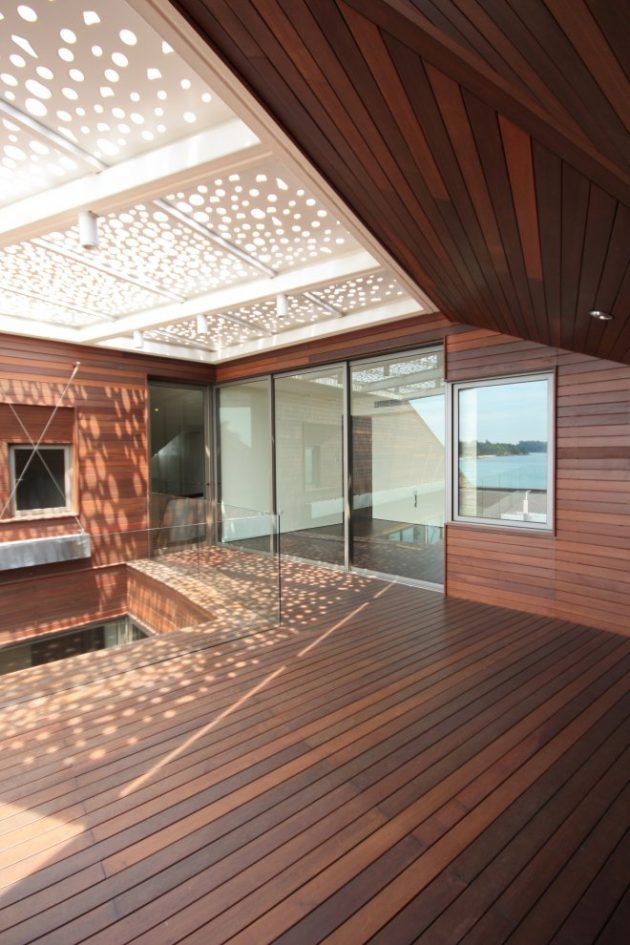 Stereoscopic House by Pencil Office on the Sentosa Island in Singapore