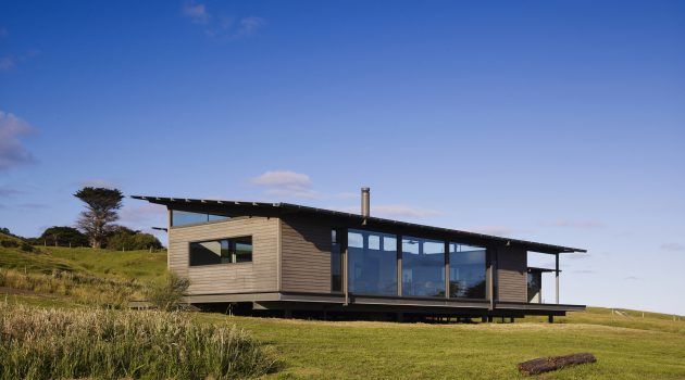 Sugar Gum House by Rob Kennon Architects in Apollo Bay, Australia