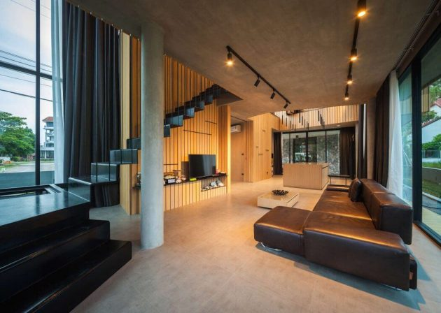 T House by IDIN Architects in Thailand