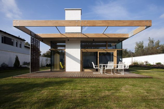 TD House by sporaarchitects in Debrecen, Hungary