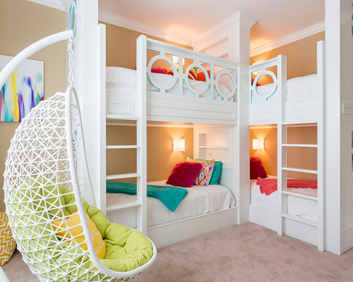 8 Creative Ways With Bunk Beds For Kids Rooms