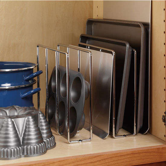 9 Kitchen Cabinet Storage Ideas to Deal With All the Clutter