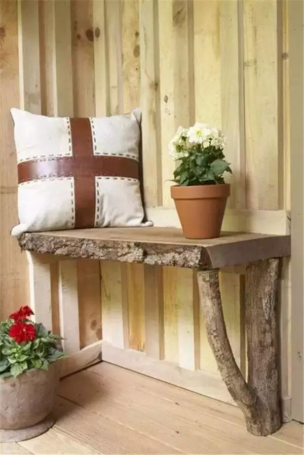 59 Incredibly Simple Rustic Décor Ideas That Can Make Your: 18 Fascinating DIY Wood Log Decorations That You Can Make