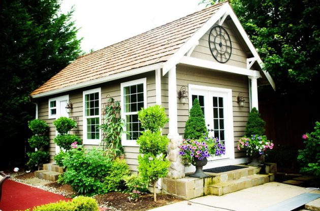 18 Marvelous Garden Shed Designs That Will Attract Your Attention