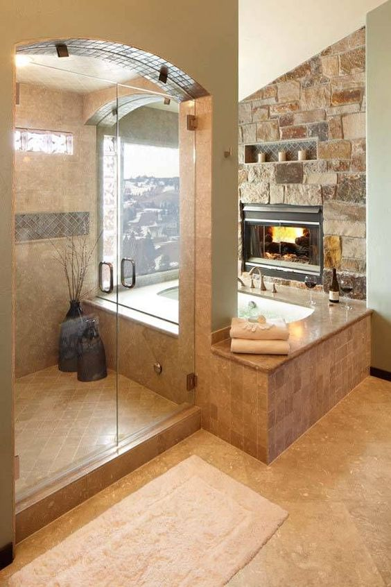20 Truly Amazing Stone Bathrooms To Enter Rustic Charm In The Home