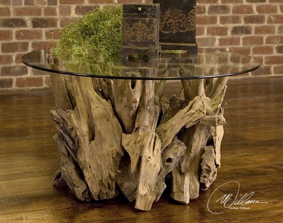 Driftwood Coffee Table Designs- Stylish Addition To Every Trendy Living Room