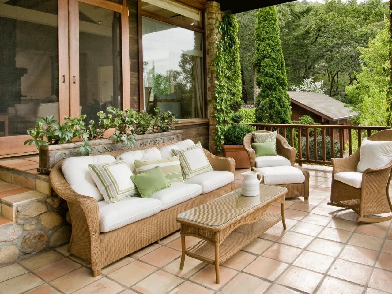 Дизайн террасы к загородному дому