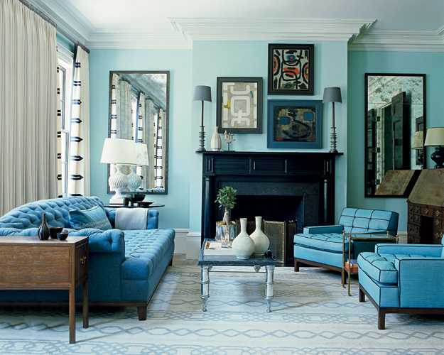 16 Divine Monochromatic Living Rooms