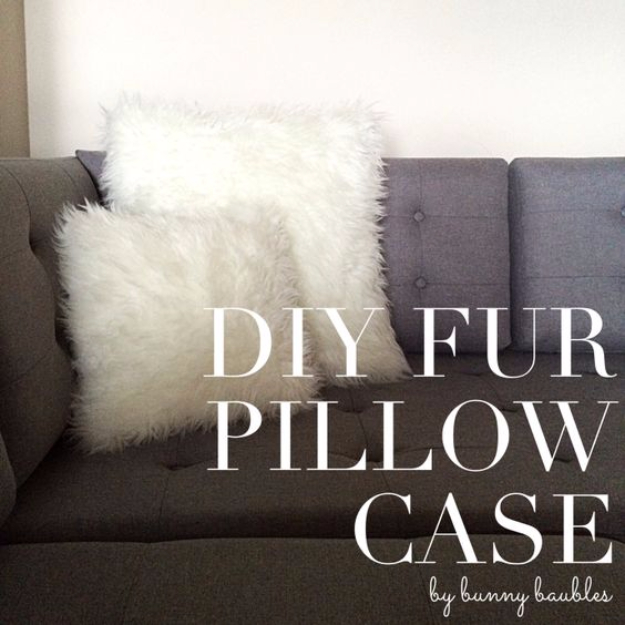 15 Charming DIY Pillowcases Your Bedroom Patiently Awaits