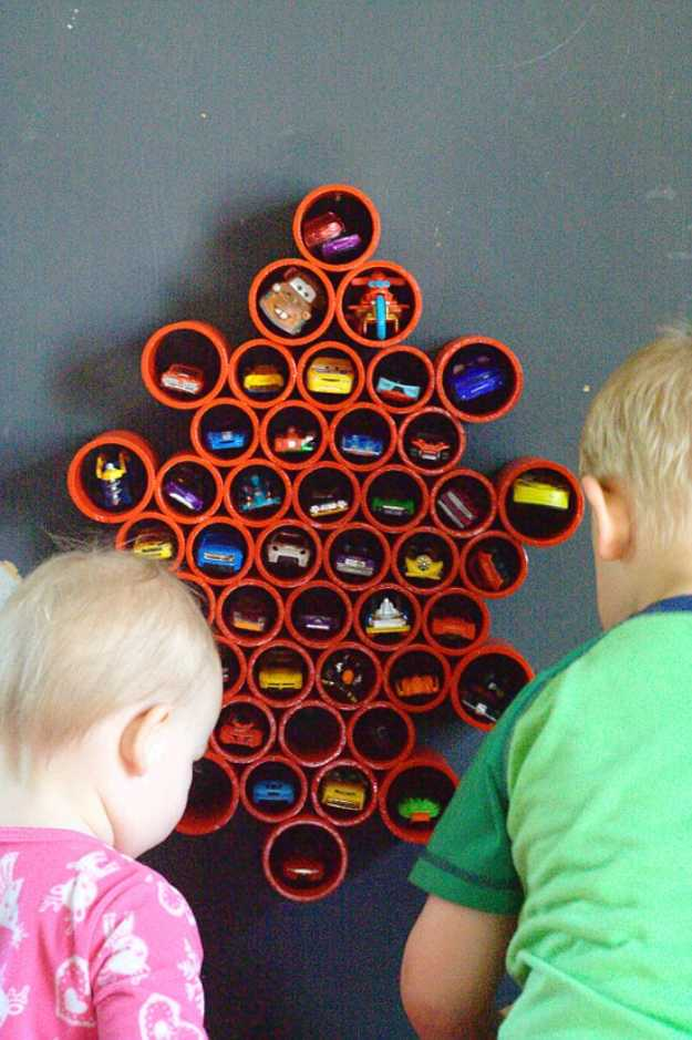 15 Creative DIY Organizing Ideas For Your Kids' Room