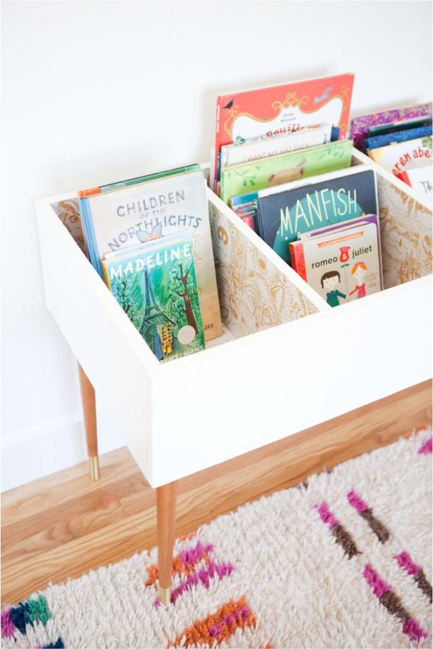 15 Δημιουργικές DIY Οργανωτική Ιδέες Για Παιδικό δωμάτιο σας