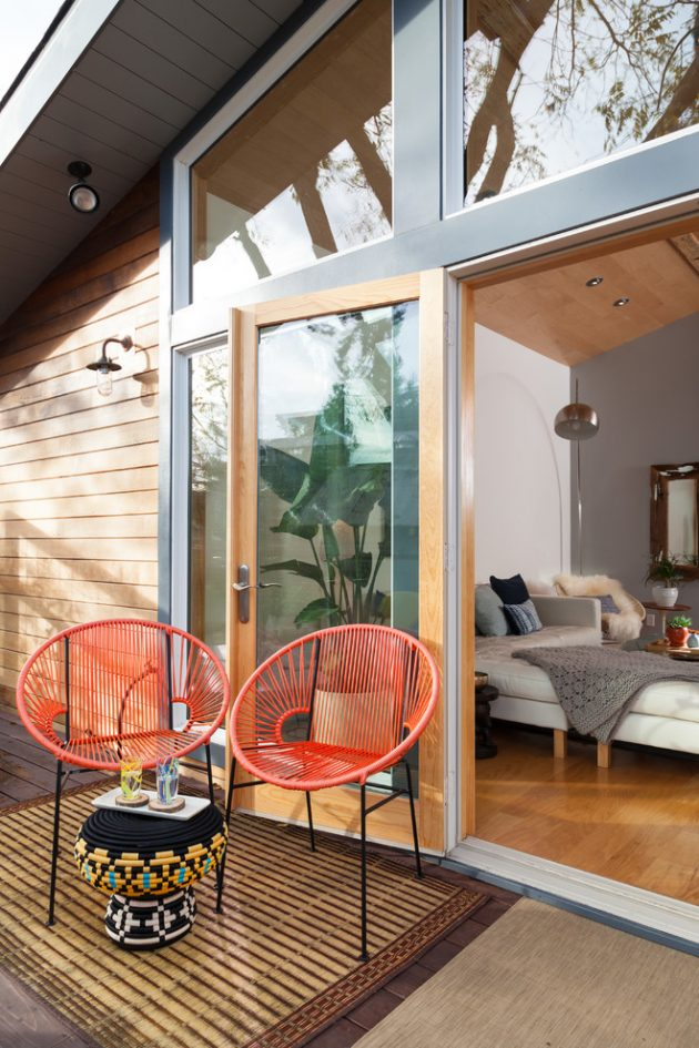 15 Enchanting Mid-Century Modern Deck Designs Your Outdoor ... on Mid Century Modern Patio Ideas id=32763