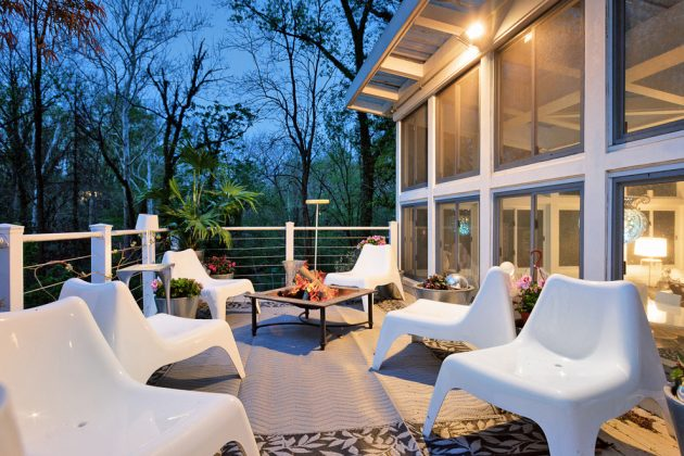 15 Enchanting Mid Century Modern Deck Designs Your Outdoor
