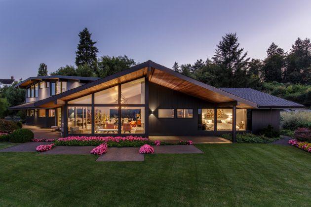 15 Gorgeous Mid-Century Modern Home Exterior Designs